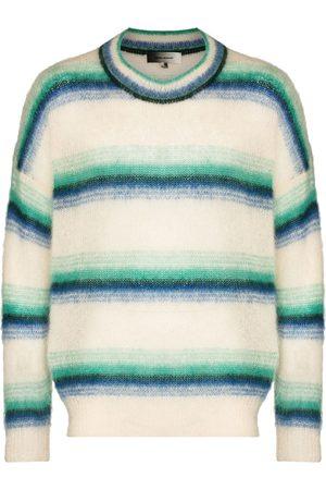 Isabel Marant Men Sweatshirts - Drusselh striped crew neck jumper