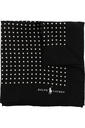 Polo Ralph Lauren Men Bow Ties - St. James dotted-print pocket square