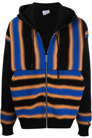 MARCELO BURLON Men Hoodies - Satellite Cross zipped hoodie