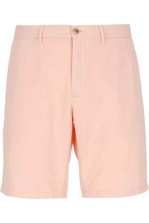 Tommy Hilfiger Men Shorts - Logo embroidered chino shorts