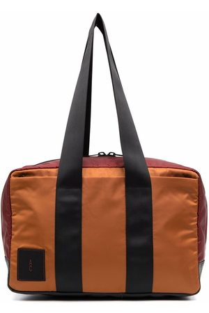 ALLY CAPELLINO Logo-patch holdall