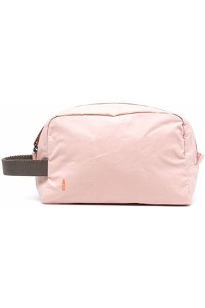 ALLY CAPELLINO Toiletry Bags - Embroidered-logo wash bag