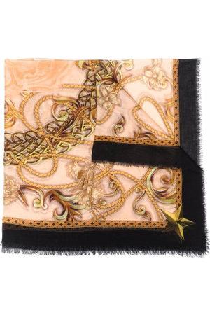 Philipp Plein Baroque-print scarf - Neutrals