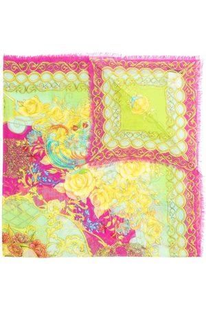 Philipp Plein Baroque pattern-print scarf - 21