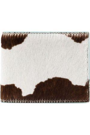 Camper Lab Cow-print bifold wallet