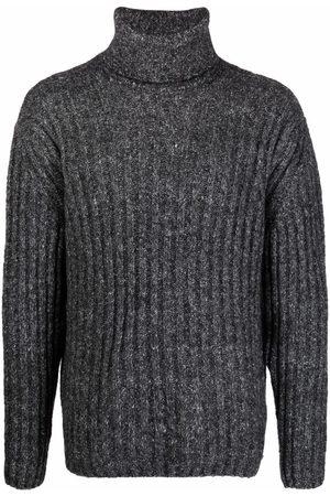 Etudes Ribbed knit roll-neck jumper - Grey