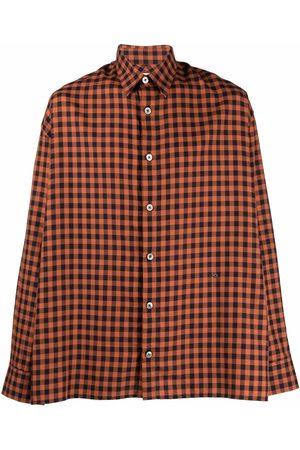 Etudes Illusion Check shirt