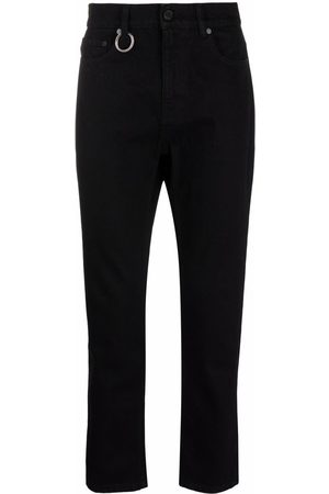 Etudes High-rise fitted jeans