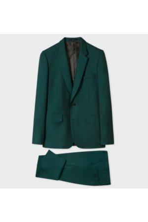 Paul Smith Men Suits - Men's Tailored-Fit Dark Wool 'A Suit To Travel In