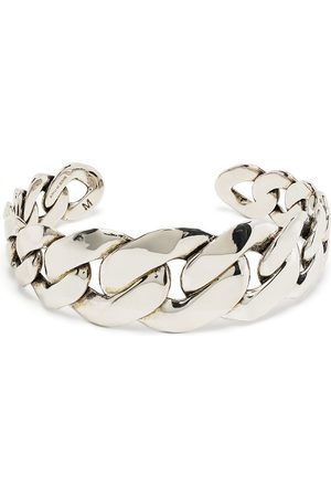 Alexander McQueen Chain-link detail bracelet - 0446