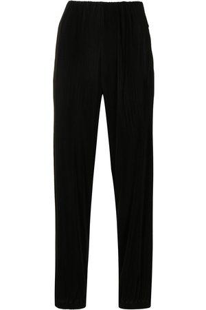Giorgio Armani Women Straight Leg Pants - Straight-leg plissé trousers