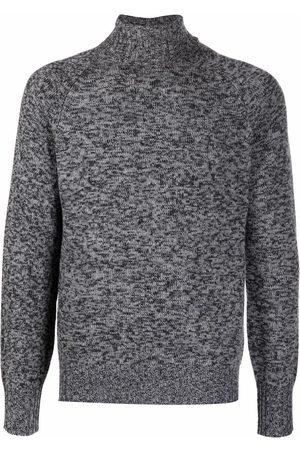 BALLANTYNE Men Turtlenecks - Roll neck wool jumper - Grey