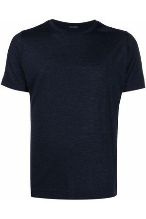 ZANONE Men Short Sleeve - Short-sleeved virgin wool T-shirt