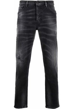 Dondup Men Slim - Whiskering effect slim fit jeans