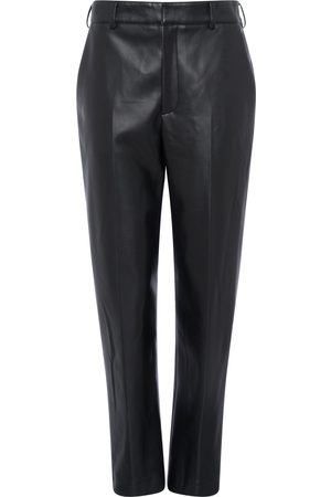 French Connection Crolenda PU Tapered Suit Trousers- -74RBF