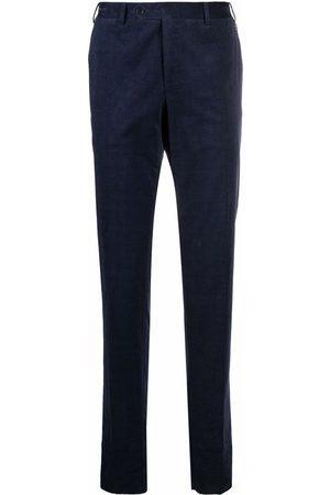 Canali Men Skinny Pants - Slim-cut corduroy trousers
