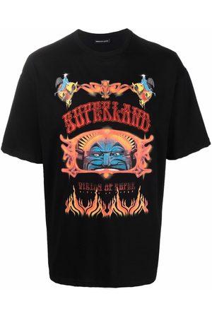 Vision Of Super Logo-print short-sleeved T-shirt