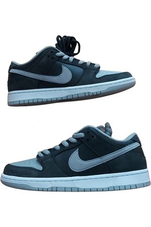 Nike Men Sneakers - SB Dunk patent leather low trainers