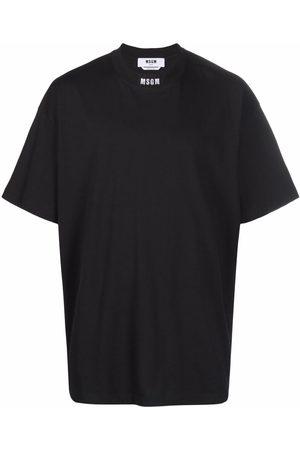MSGM Logo-print short-sleeved T-shirt