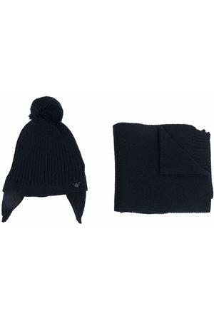 Emporio Armani Kids Sets - Virgin wool-cotton blend set