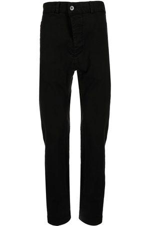 11 BY BORIS BIDJAN SABERI Drop-crotch tapered jeans