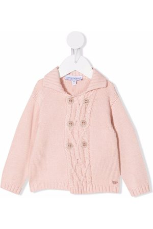 Emporio Armani Cardigans - Double-breasted knit cardigan
