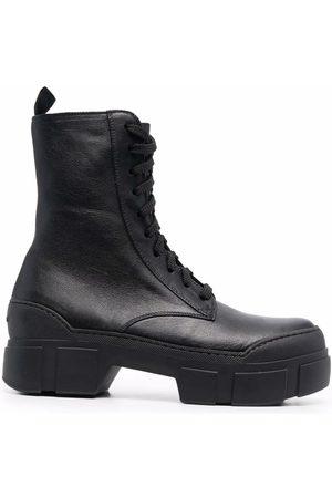 Vic Matie Leather combat boots