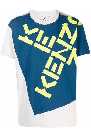 Kenzo Logo-print short-sleeve T-shirt - Grey