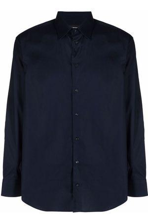 Emporio Armani Long-sleeve cotton shirt