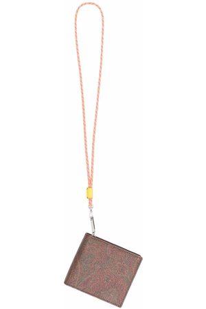 ETRO Men Wallets - Paisley zipped wallet