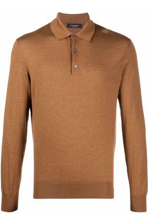 Ermenegildo Zegna Knitted polo shirt - Neutrals