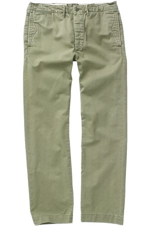 Ralph Lauren Officers Flat Pant Chino Olive