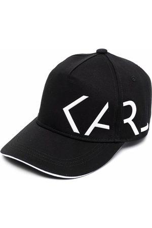 Karl Lagerfeld Logo-print cap