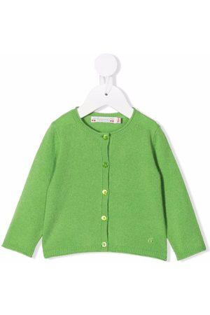 Bonpoint Fine knit cashmere cardigan