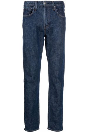 Levi's: Made & Crafted 512 logo-patch tapered jeans