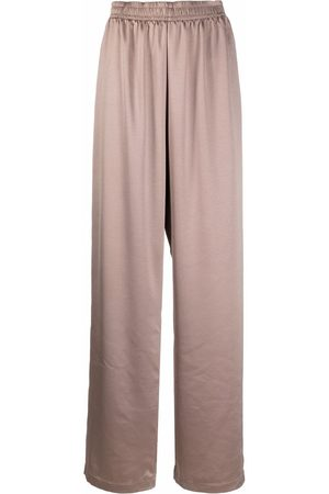 Styland Elasticated straight trousers - Neutrals