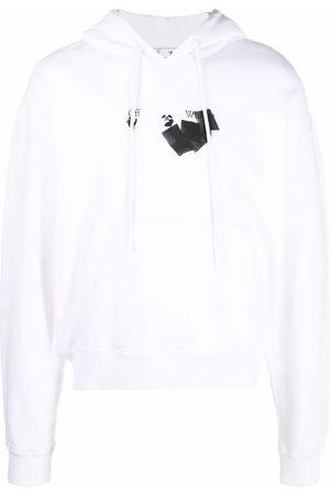 Off-White Logo-print drawstring hoodie
