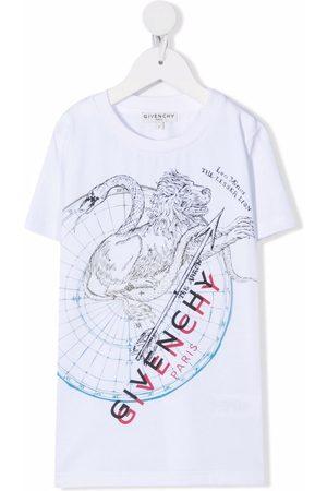Givenchy Boys Short Sleeve - Graphic-print short-sleeve T-shirt