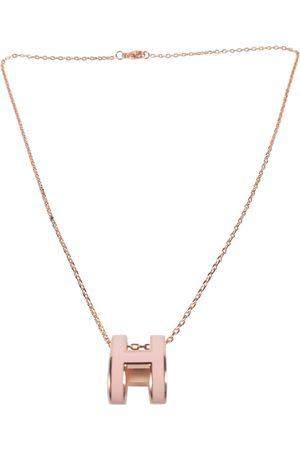 Hermès Pop H gold pendant
