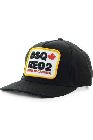 Dsquared2 Men Caps - D2 PATCH YELLOW BASEBALL CAP