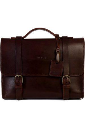 The Dust Italy Mod 125 Business Bag Cuoio Havana Havana