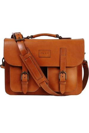 The Dust Italy Mod 100 Business Bag Cuoio Cuoio