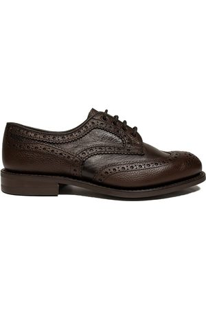 TRICKERS Trickers Bowood Two Tone Derby Brogues Grain / Olivia