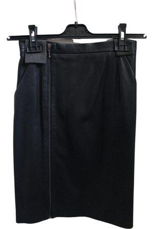 Nicole Farhi Leather skirt