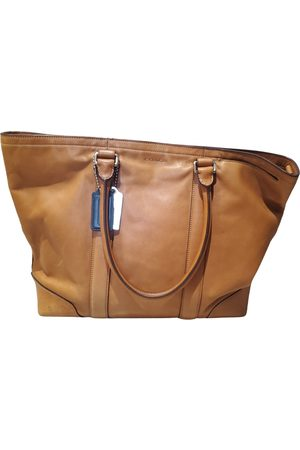 Coach Men Travel Bags - Leather weekend bag