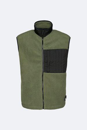 Rains Fleece Vest - Olive