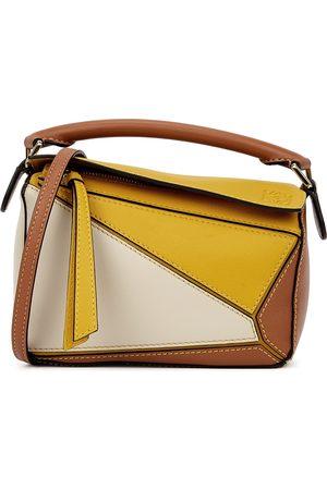 Loewe Women Luggage - Puzzle mini panelled leather cross-body bag