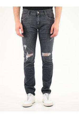 Dolce & Gabbana Skinny ripped jeans