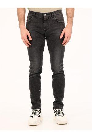 Dolce & Gabbana Stretch skinny jeans gray
