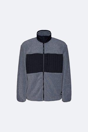 Rains Fleece Jacket - Heather Grey